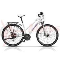 Bicicleta Cross Amber Lady Trekking 28