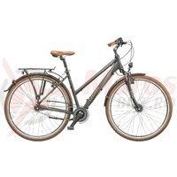 Bicicleta Cross Citerra lady 28 inch gri/argintiu