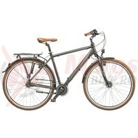Bicicleta Cross Citerra man 28 inch gri/argintiu