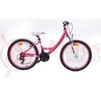 Bicicleta Cross Impulse 24' wave - rosu