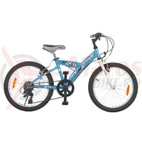 Bicicleta Cross Rocky 20 inch albastra 2015