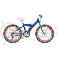 Bicicleta Cross Rocky 24'' junior albastru