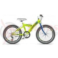 Bicicleta CROSS Rocky otel - 20'' junior - Verde