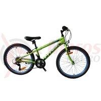 Bicicleta CROSS Speedster otel - 24' junior - verde