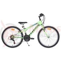 Bicicleta Cross Speedster otel 24'' junior verde