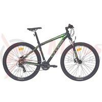Bicicleta Cross Viper HDB 29 negru/verde 2018