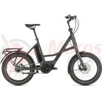 Bicicleta Cube 20' Compact Hybrid iridium/black 2020