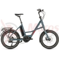 Bicicleta Cube 20' Compact Sport Hybrid blue/red 2020