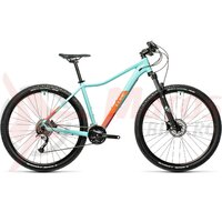 Bicicleta Cube Acces WS Pro Iceblue/Orange 27.5' 2021