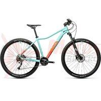 Bicicleta Cube Acces WS Pro Iceblue/Orange 29' 2021