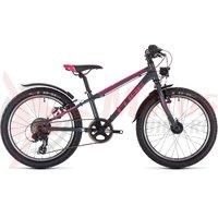 Bicicleta Cube Access 200 Allroad Grey/Blue/Pink 2019