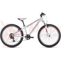 Bicicleta Cube Access 240 white/red/coral 2019