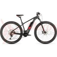 Bicicleta Cube Access Hybrid Race 500 27.5' iridium/red 2020