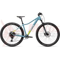 Bicicleta Cube Access WS SL 27.5' Greyblue/Lime 2021
