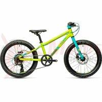 Bicicleta Cube Acid 200 Disc Green Petrol 20' 2021