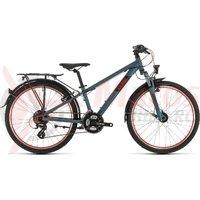 Bicicleta Cube Acid  240 Street Darkgrey Red 2020