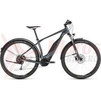 Bicicleta Cube Acid Hybrid One 400 Allroad Grey/White 2019