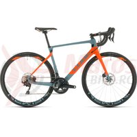Bicicleta Cube Agree C:62 Race bluegrey/orange 2020