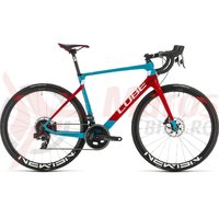 Bicicleta Cube Agree C:62 SLT petrol/red 2020