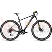 Bicicleta Cube AIM Black Green 29' 2021