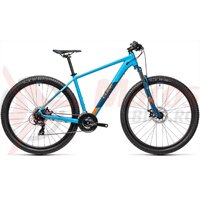 Bicicleta Cube AIM Blue Orange 27.5' 2021