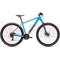 Bicicleta Cube AIM Blue Orange 29' 2021