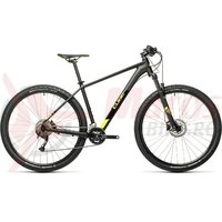Bicicleta Cube Aim ex Black/Flashyellow 29' 2021