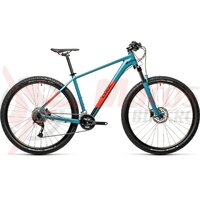 Bicicleta Cube Aim Ex Blue/Red 27.5' 2021