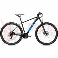 Bicicleta Cube Aim Pro Black Blue 27,5' 2021