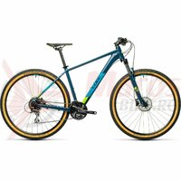 Bicicleta Cube Aim Race Blueberry Lime 27.5' 2021