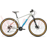 Bicicleta Cube Aim SL 27.5'' Grey/Blue/Red 2021