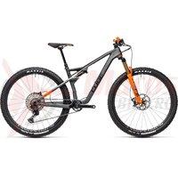 Bicicleta Cube AMS 100 C:68 TM 29 Flashgrey/Orange 2021