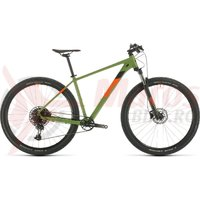Bicicleta Cube Analog 29'' Green/Orange 2020