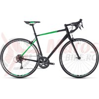 Bicicleta Cube Attain black/flashgreen 2018