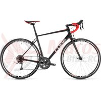 Bicicleta Cube Attain Black/Red 2019