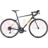 Bicicleta Cube Attain Grey/Flashyellow 2020