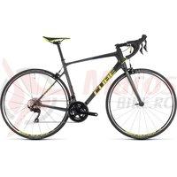 Bicicleta Cube Attain GTC Pro Iridium/Flashyellow 2019