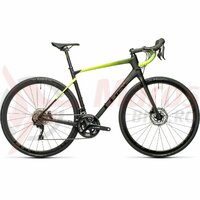 Bicicleta Cube Attain GTC Race Carbon/Flashyellow 2021
