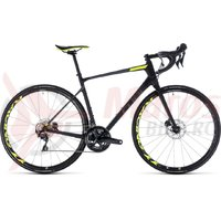 Bicicleta Cube Attain GTC SLT Disc carbon/flashyellow 2018