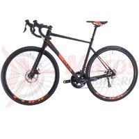 Bicicleta Cube Attain Pro Black/Orange 2020
