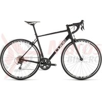 Bicicleta Cube Attain Race Black/White 2019