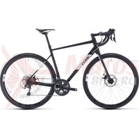 Bicicleta Cube Attain Race Black/White 2020