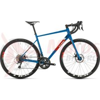Bicicleta Cube Attain Race Blue/Red 2020