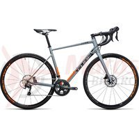 Bicicleta Cube Attain Race Disc gri/orange 2017