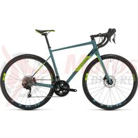 Bicicleta Cube Attain SL Bluegrey/Green 2020