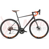 Bicicleta Cube Attain SL Disc Grey/Orange 2019