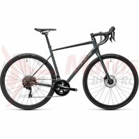 Bicicleta Cube Attain SL Grey/Black 2021