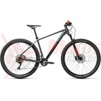 Bicicleta Cube Attention 27.5'' Grey/Red 2021