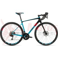Bicicleta Cube Axial WS GTC Pro Lightblue/Red 2020