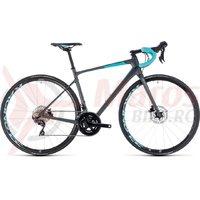 Bicicleta Cube Axial WS GTC SL Disc iridium/aqua 2018